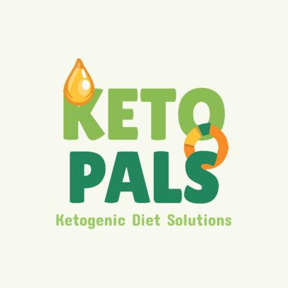 Logo Maker for a Keto Diet-Focused Nutritionist 4315