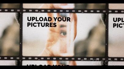 Slideshow Video Maker Featuring Retro Film Filter Effect 2986-el1