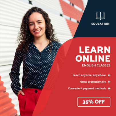 Instagram Post Maker for Online Teachers 3842-el1