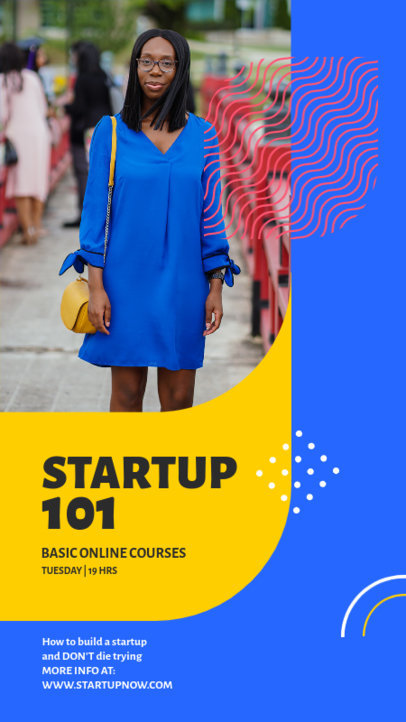 Instagram Story Template for a Business 101 Online Course 3889a-el1