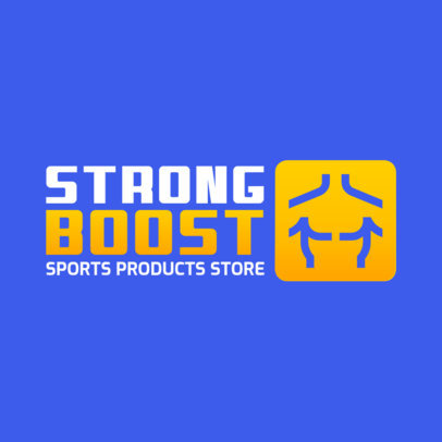 Store Logo Creator with a Fitness-Themed Graphic 3905a-el1