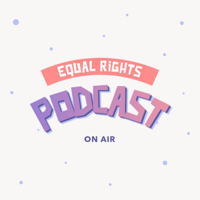 Logo Generator for an LGBT Rights-Themed Podcast 4323a