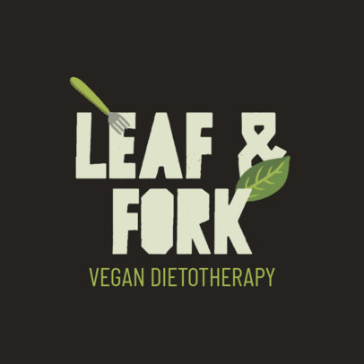 Logo Maker for Vegan Diet Specialists 4315c