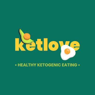 Logo Template for Ketogenic Diet Nutritionists 4315e