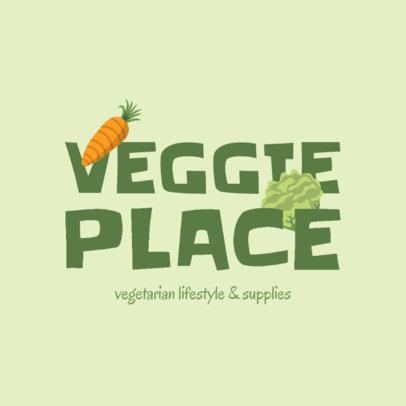 Online Logo Creator for a Vegan Food Store 4315l
