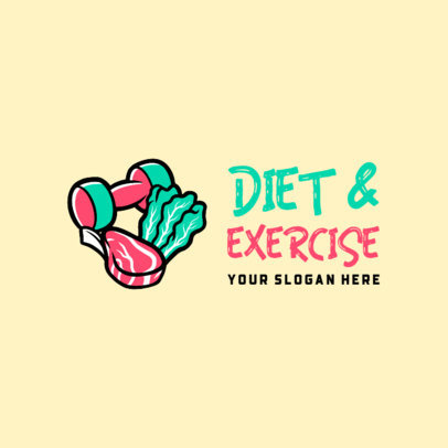 Online Logo Template for a Healthy Lifestyle Routine Program 4318f