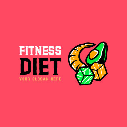 Logo Generator for a Fitness Meal Plan 4318g