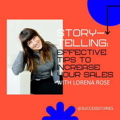 Instagram Story Post Template for a Business Success Story 3926-el1