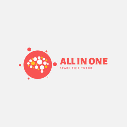 Education Logo Maker for a Personal Tutor 3934d-el1