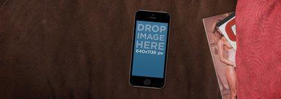 iPhone 5s Black Portrait Porn Magazine Wide