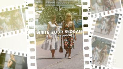 Slideshow Video Maker Featuring Vintage Film Transitions 2967-el1