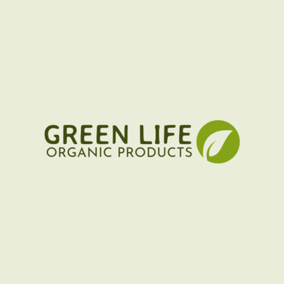 Minimal Logo Maker for an Organic Products Brand 4353
