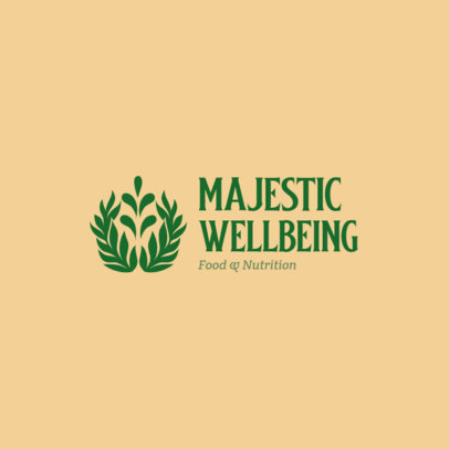 Wellbeing-themed Logo Template for a Nutrition Brand 4354e