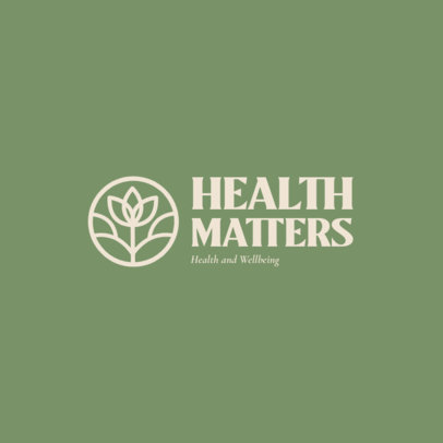 Alternative-Health Logo Generator for Natural Brands 4354f