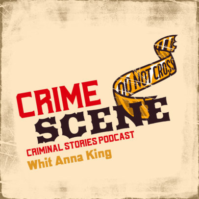 Podcast Cover Design Maker for Mystery and Detective Shows 4357o