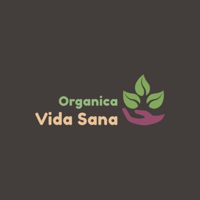 Online Logo Generator for an Organic Store 4356e