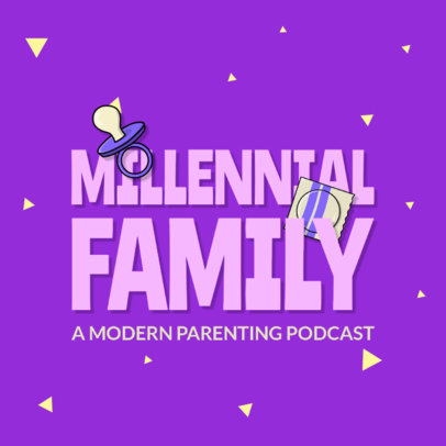 Logo Maker for a Podcast Aimed at Young Parents 4361q