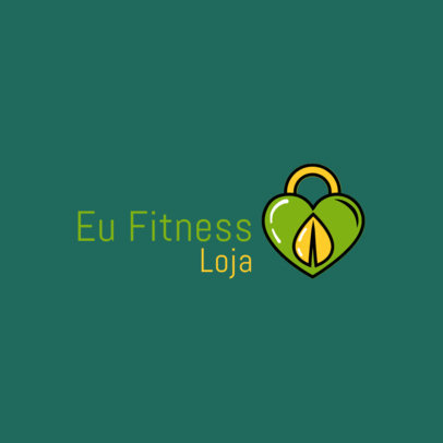 Online Logo Template With a Fitness and Wellness Theme 4356a