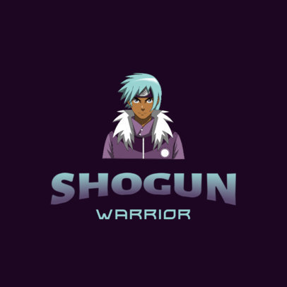 Gaming Logo Maker with Graphics Inspired by Naruto Characters 4373