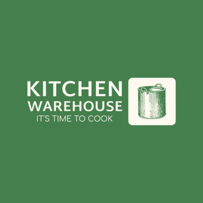 Logo Template for a Kitchenware Seller 3980a-el1