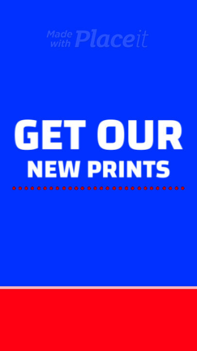 Instagram Story Video Creator for a New Season Print on Demand Sale 1660e 3506