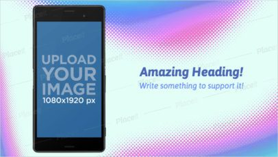 Android Screenshot Builder of a Sony Xperia in Portrait Position a16019