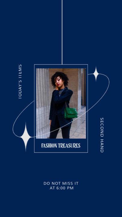 Instagram Story Design Creator for a Trendy Clothing Brand 4035c-el1