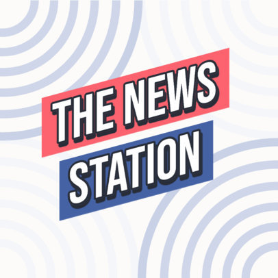 Podcast Cover Template for News and Politics Analysis 4400