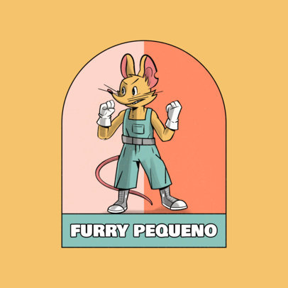 Online Logo Maker Featuring Furry Characters 4392