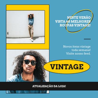 Instagram Post Generator With a Vintage Fashion Theme 4041e-el1