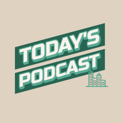 Podcast Cover Creator for Daily News Analysis 4400c
