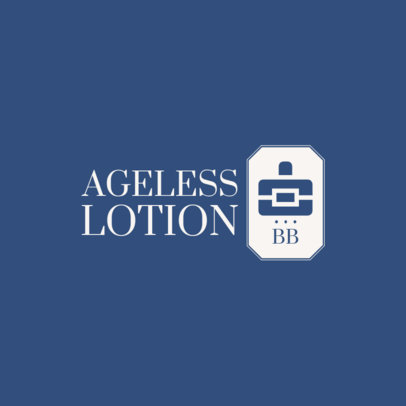 Classy Beauty Logo Creator for an Anti-Aging Lotion 4061a-el1
