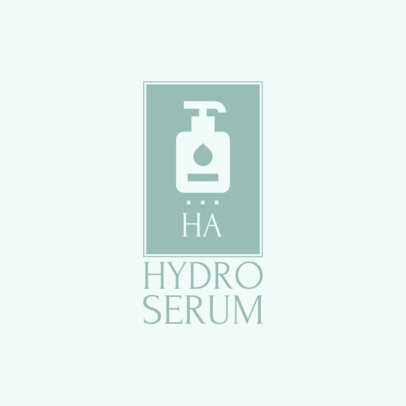 Simple Logo Maker for a Skincare Serum 4061d-el1