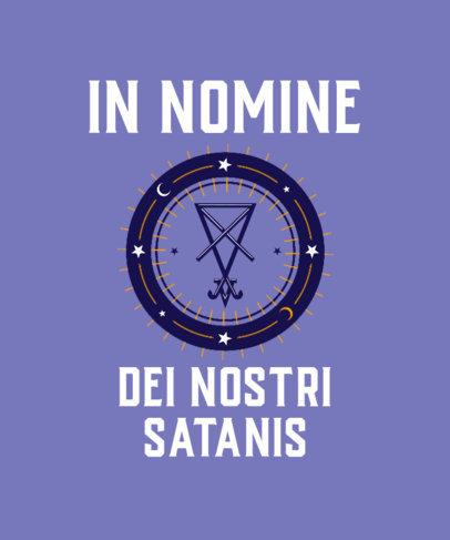 T-Shirt Design Maker with Mystical Symbolism 3764e
