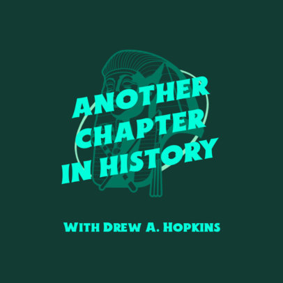 Cover Design Template for a History-Themed Podcast 4413a