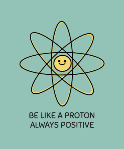 Funny T-Shirt Design Maker Featuring Science Puns 3796