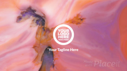 Intro Logo Template Featuring an Animated Seamless Marble Background 3213-el1