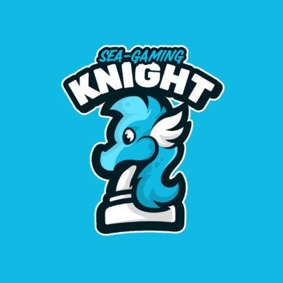 Cartoonish Logo Generator for a Sea-Themed Game 4114c-el1