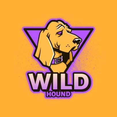 Gaming Logo Creator Featuring a Wild Hound Graphic 4230e 4448