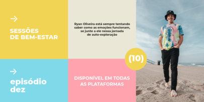 Psychology Podcast-Themed Twitter Post Maker fir a Brazilian Show 4118f-el1