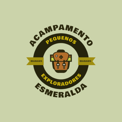Logo Generator for a Little Scouts' Summer Camp 4480B