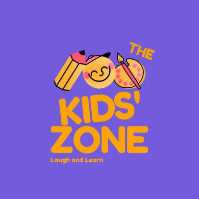 Fun Logo Creator for a Kids Educational Center 4486c