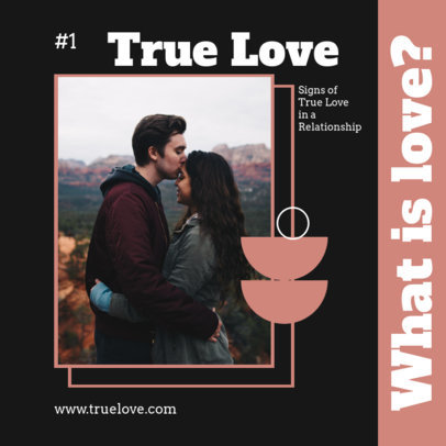 Instagram Post Design Maker for a Carousel About Love and Relationships 4156e-el1