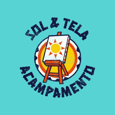 Logo Maker for Arts Summer Camps 4484h