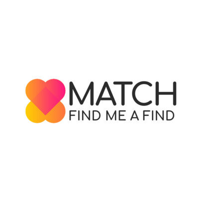 Minimal Logo Template for a Dating Website 4479b