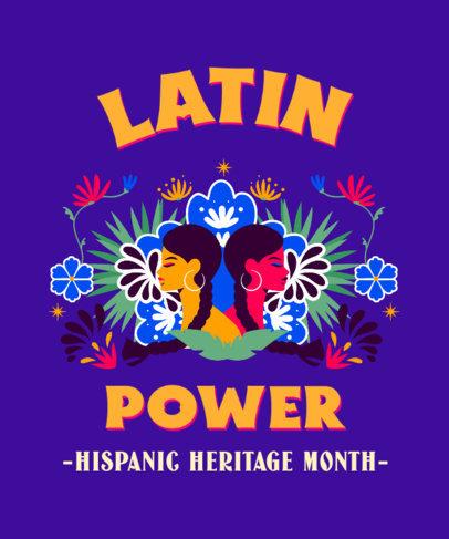 T-Shirt Design Maker to Celebrate Hispanic Heritage Month 3858