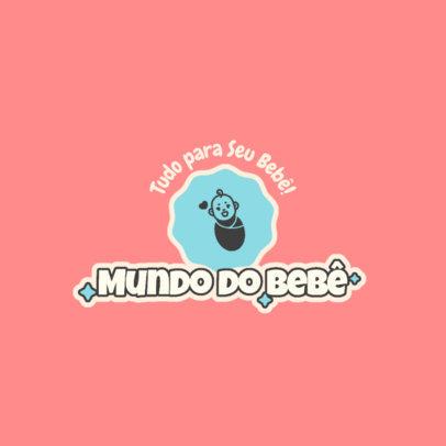 Tender Logo Maker for a Brazilian Store for Babies 4183e-el1