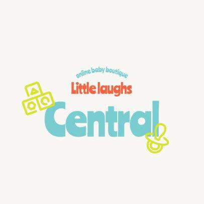 Simple Logo Generator for an Online Baby Boutique 4185b-el1