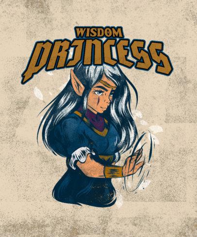 Retro T-Shirt Design Maker Inspired by The Legend of Zelda 4499a