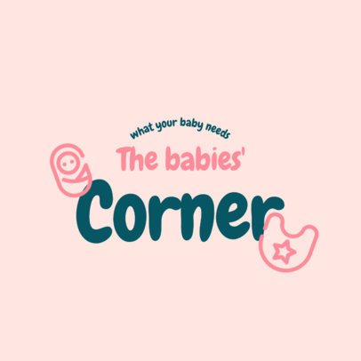 Logo Generator for a Baby Products Brand Featuring Bold Fonts 4185f-el1